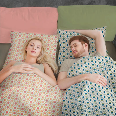 Geo duck Fit bedding for adults. Bedding kit that matches with bedding for baby and junior duvet and pillow cover.